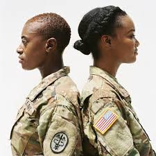 hairstyles for female army soldiers see the servicewomen wearing their natural hair essence com