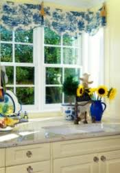 Blue And Yellow Kitchen Curtains Decorating B B B Country B Decorating B Blue B B Yellow B