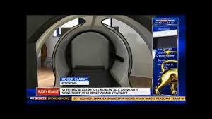 sleep pods for manchester united training facility youtube