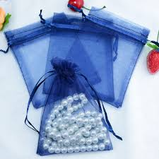 tulle bags 200pcs lot 13x18cm navy organza bags tulle jewelry gift bag
