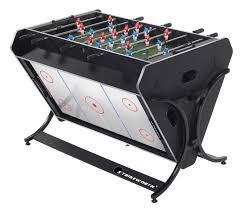 3 in one foosball table strikeworth trisport multi games table pool air hockey foosball