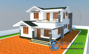 3bhk modern style house design 2015