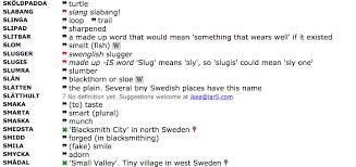 swedish to english ikea product name dictionary boing boing