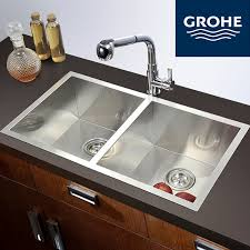 grohe kitchen sink faucets kitchen on grohe kitchen sinks barrowdems