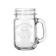 county fair glass drinking jar libbey retail