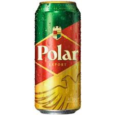 Muito Cerveja Polar Export Lata 473ml - CostiBebidas #UP27