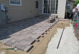 Concrete Patio Blocks Crest Hill Brick Paver Patio Crest Hill Contractor Delaney