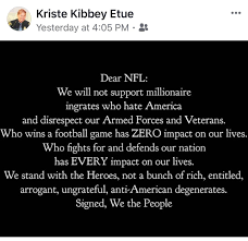 I Hate People Meme - msp chief s post nfl players who kneel for anthem are degenerates