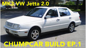 volkswagen vento 1994 1994 vw jetta 2 0 chumpcar build ep 1 youtube