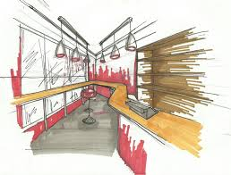 interior design sketches google search retail spaces