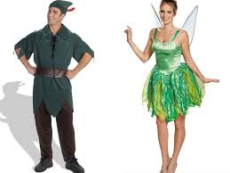 Tinkerbell Peter Pan Halloween Costumes 13 Cute Disney Couple Costumes