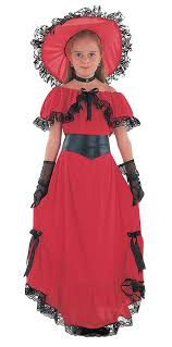 scarlet o u0027hara 1800s civil war fancy dress costume kids book