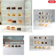 Muffin Display Cabinet Glowdisplay Acrylic Cupcakes Display Case Stand Cabinet Buy