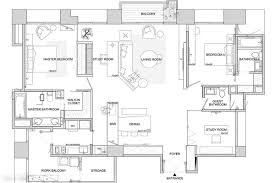 Designing Floor Plans asian interior design trends in two modern homes with floor plans