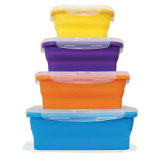 flat stacks food storage container set ocean sales