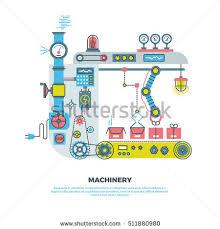 flat line vector design illustration concept stock vector