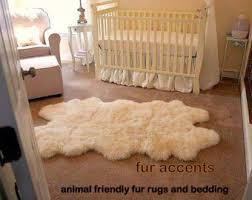 Faux White Sheepskin Rug Rug Faux Fur Area Rugs Jamiafurqan Interior Accessories