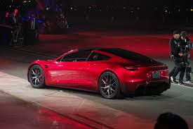tesla tesla unveils the new roadster techcrunch