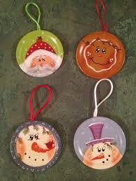 our first christmas ornament tole painting crafts i have done
