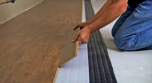 How To Lay Underlayment For Laminate Flooring Underpad For Laminate Flooring Basement