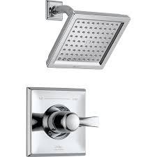 Shower Faucet Diverter Shop Delta Dryden Chrome 1 Handle Shower Faucet Trim Kit With Rain