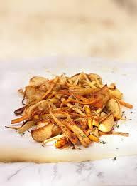 cuisiner les l馮umes anciens légumes oubliés caramélisés ricardo