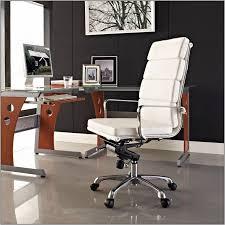 White Leather Office Chair Lexington Modern White Leather Office Chair Chairs Home