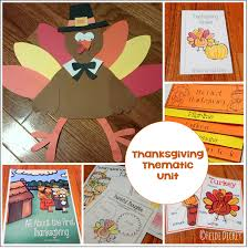my not so elementary thanksgiving thematic unit
