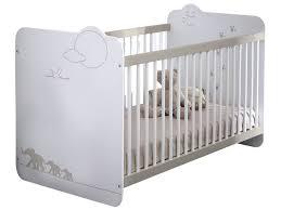 chambre bebe jungle meubles chambre bébé lits bébés lit jungle coloris blanc