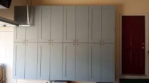 built in storage cabinets making garage storage cabinets i