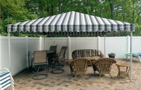 Free Standing Canopy Patio Free Standing Canopies Bill U0027s Canvas Shop