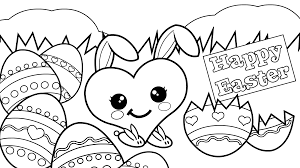 coloring pages easter eggs printable archives
