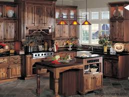 Rustic Hickory Kitchen Cabinets Rustic Walnut Kitchen Cabinets Roselawnlutheran