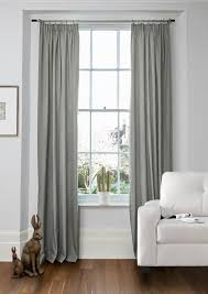 cole silver plain made to measure curtains shop by pattern