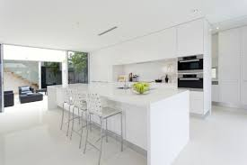 white kitchen cabinets pros and cons get the look the pros and cons of all white kitchens
