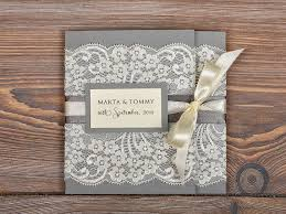 wedding invitations lace lace wedding invitation plumegiant