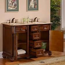 provence double sink vanity modetti provence 34 single bathroom vanity set with mirror in beige