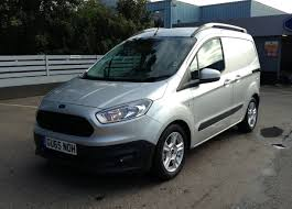 Ford Corier Ford Transit Courier 1 5tdci Trend 75ps In Silver 2015 For Sale At