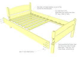 standard bed framequeen king standard lock bed frame standard