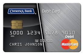 debit card comerica debit mastercard atm card comerica