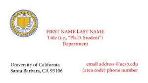 student business card ucsb graduate students association education business cards