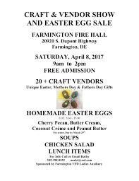 easter egg sale craft vendor show and easter egg sale delmarvalife