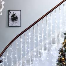 Curtain Fairy Lights by Indoor Curtain Lights Lights4fun Co Uk