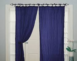 Tie Top Curtains Tie Top Curtains Etsy