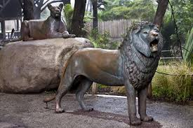 lions statues bronze lion statues clippix etc educational photos for students