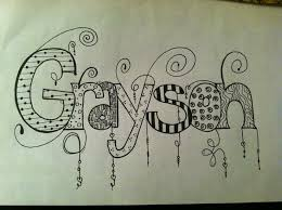 doodle name 56 best doodle name images on lettering