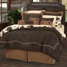 Embroidered Bedding Sets Chocolate Barbwire Bedding Sets Cabin Place