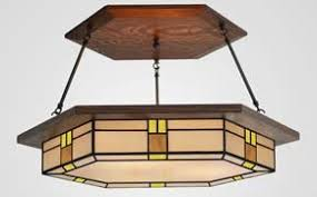 Mission Style Chandelier Lighting Dining Room Lighting Craftsman Mission Style Mission Studio