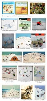 winter and paintings by william kurelek