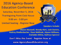 2016 conference agency based education